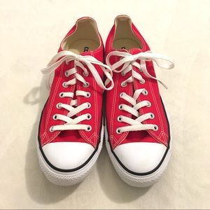 Converse Chuck Taylor All Stars red sneakers